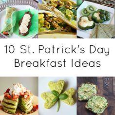 10 St Patricks Day #breakfast ideas