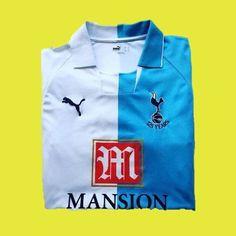 2007-08 Spurs x Puma @iconickits  #tottenhamhotspur #thfc #puma #pumafootball #footballshirt #footballshirtcollective #football #premierleague