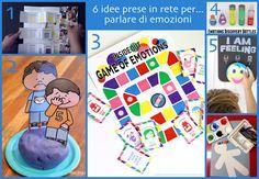 Parlare di emozioni ai/con i bambini non è semplice facile, ecco allora tante divertentiattività che possono aiutare a rompere il ghiaccio! Il lapbook delle emozioni Emozioni di dido' Il gioco di ...
