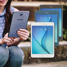 """The Samsung Galaxy Tab A 8.0"""" is family friendly, easy to use and delivers a powerful entertainment experience. Access to the Web, TV shows, movies and over 750,000 Apps all powered by Android 5.0 Lollipop. Kids Mode offers a fun and secure place for kids.  #Samsung #Galaxy #android #Mobile #tech #GalaxyTab #tab #Google #Lollipop #Tablet #Computer #Deals #Saturday"""