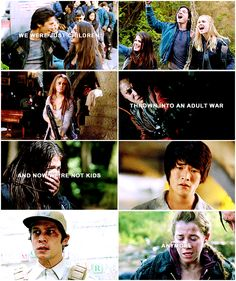 """We were just children thrown into an adult war, and now we're not kids anymore"" 