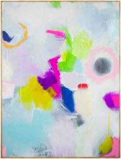 """January"" by Jenny Prinn, $3000, 36"" x 48,"" available at Serena & Lily. #serenaandlily"