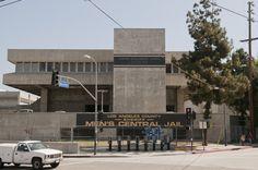 Outside of Men's Central Jail (MCJ)