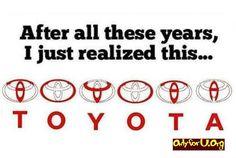 The Toyota logo