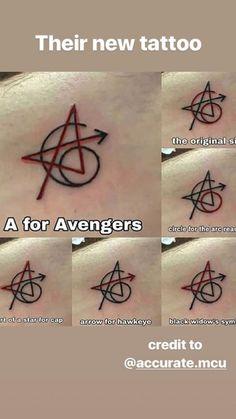 Avengers tattoos