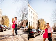 Sweet Spring Engagement Session in Washington D.C. | Images by Stephen Gosling Photography | Via Modernly Wed | 17