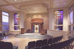 Sanctuary of Peace and Healing, Temple Emek Shalom, Ashland, Oregon by Plachte-Zuieback