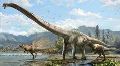 Científicos anuncian el descubrimiento del dinosaurio más grande de Brasil
