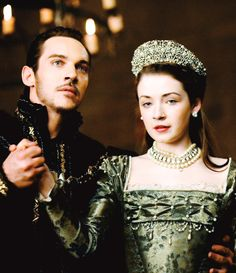 King Henry VIII and daughter The Lady Mary Tudor in The Tudors. – Diziler ve Filmler Burada Anne Boleyn, Anne Of Cleves, Los Tudor, The White Princess, Princess Mary, White Queen, Tudor Series, Tv Series, Royals