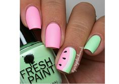 Wzorki na palec serdeczny. 20 super pomysłów na letni manicure - Strona 3