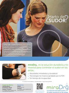 #StayDryWithMiraDry #Hiperhidrosis #miraDry www.miradry.com.mx