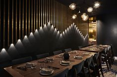 FUJISAKI Restaurant & Bar by Design Clarity, Barangaroo / Sydney – Australia » Retail Design Blog