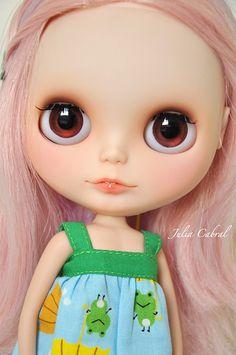 Monalisa - Custom Blythe #89 | Blythe custom commission da M… | Flickr