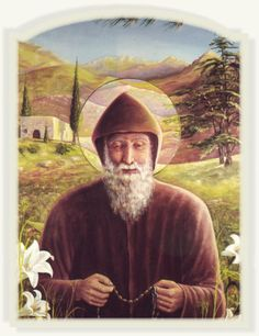 Saint of the day – July 24 – St Charbel Makhlouf (Sharbel Makhluf) #pinterest On July 24, the Catholic Church celebrates the life of St. Charbel Makhlouf, a Maronite Catholic priest, monk and hermit who is known for working miracles both during his life and after his death. ...........| Awestruck