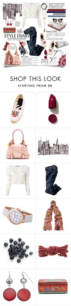 """outfit of the day by Sasoza"" by sasooza ❤ liked on Polyvore featuring Christian Louboutin, Garance Doré, American Apparel, NARS Cosmetics, Niels Peeraer, Jay Ahr, Gucci, Isabel Marant, Dolce&Gabbana and Prada"