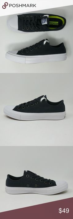 Converse Chuck Taylor All Star II 2 Low Shoes New New with box. Sizes 6.5 ff84544ac