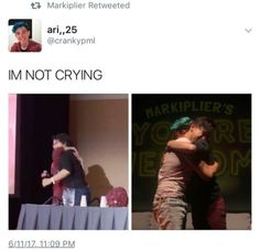 I'M NOT<< ME NEITHER IM A S-STRONG... S-STRONG... *sobs*