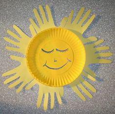 Paper Plate Sun