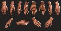 Man Hand - Study , Andre SiK on ArtStation at https://www.artstation.com/artwork/4dkG4