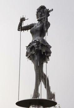Park Chan-girl (metal sculptures)