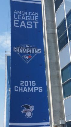 Toronto Blue Jays are the American League East champions of Best Baseball Games, Baseball Boys, American Baseball League, American League, Different Sports, Babe Ruth, Toronto Blue Jays, Go Blue