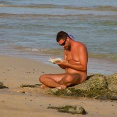 Nudism brings peace