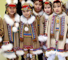 Eurasia: Sakha children, Siberia (Northern Asia), Russia