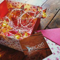 Coffret Origam'i avec guirlande lumineuse pour Noël. (35€)