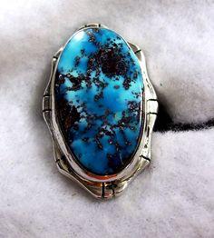 AAA  BISBEE turquesa anillo 446 por Flagstafftraders en Etsy