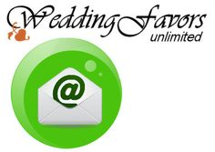 Sign up for special offers and discounts from Wedding Favors Unlimited. Because #weddings are expensive these days!