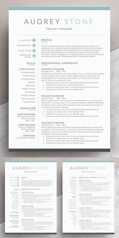 Ad:Minimalist clean resume templates, best minimal resume design 100% print ready cv resume can assist you achieve the dream job. High-quality minimal resume templates that may help you land your dream job or simply create a better looking business. Professionally designed, we take a unique approach to boring business documents, creating modern, sophisticated and easy to use#resume #cv #template #simplecv #reumeTemplate #creativeresumetemplate One Page Resume Template, Resume Cover Letter Template, Resume Design Template, Creative Resume Templates, Letter Templates, Design Resume, Cv Design, Resume Cv, Graphic Design