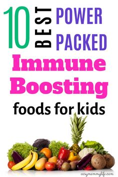 Is your child suffering from low immunity? Here is a list of the best immune boosting foods for kids. Fill their plates with these healthy foods and watch them grow strong. Healthy Toddler Meals, Toddler Snacks, Kids Meals, Toddler Dinners, Healthy Fats, Healthy Snacks, Healthy Recipes, Kid Recipes, Chicken Recipes