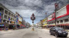 Krabi Town Thailand Krabi Town Thailand, Costa, Wander, Places Ive Been, Traveling, Street View, Passion, Explore, Viajes