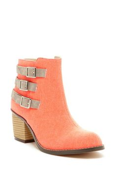 Bright boots for winter
