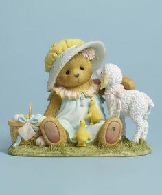 Look at this #zulilyfind! Easter Day Figurine #zulilyfinds