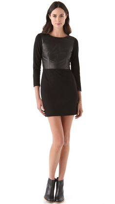 @Club Monaco Dayna Knit Dress  Perfect LBD. Great Style. Simple, sophisocated, chic.