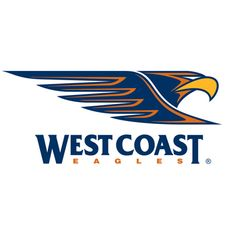 """We're Flying High"" - Official Team Song, AFL West Coast Eagles (Perth, Western Australia) Australian Football League, West Coast Eagles, Western Australia, Football Team, Football Season, Perth, Sports Logos, Sports Art, Sports Teams"