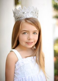 Stylish Babe Princess Lace Crowns. Sold in retail and wholesale. $24.00 (short) $28.00 (tall). Order at www.stylishbabeboutique.com Custom made to order and available in all sizes. #princessparty #lacecrowns #princesscrowns #stylishbabeboutique Photo by Dani Dillena