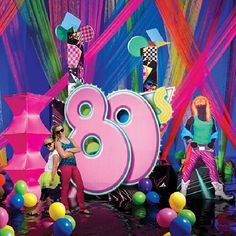 80's stage decorations - Bing Images