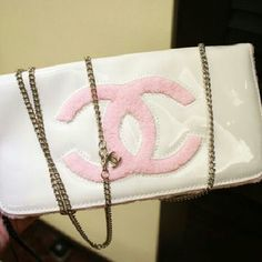 Clutch with Chain New no Bags Cosmetic Bags & Cases