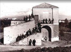 CAGLIARI Antica foto - Villa Muscas, via Sant'Alenixedda. - Villa Muscas ha origini antiche, tra l'altro il pozzo di età romana databile tra il primo e il terzo secolo d.c.