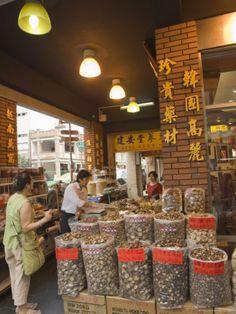 Dihua Street, Sundry Wholesale Goods Market, Taipei City, Taiwan.  Photo: Christian Kober