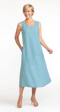 Flax Bold 2013  Pocketed Angled Dress
