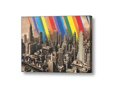 canvas Size: 70x50 cm #streetart #graffiti #print #art #canvas #design #gallery #painting #home #inspiration #city #newyork #nyc