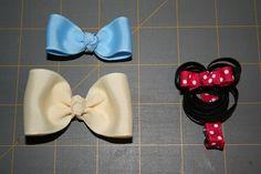 DIY hair bows!