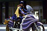 Get This Special Offer #7: Yvonne Craig Batman 24X36 Poster Stunning Batgirl On Batcycle Motorbike 60's Tv