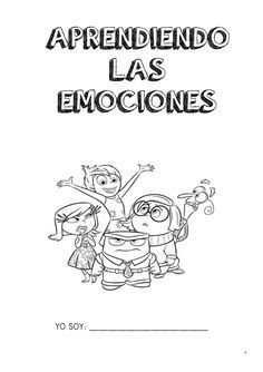 Emociones inside out                                                       …                                                                                                                                                                                 Más Elementary Spanish, Spanish Classroom, Elementary Schools, Inside Out Emotions, Feelings And Emotions, Peace Education, Spanish Teaching Resources, Mindfulness For Kids, School Psychology