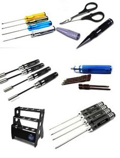At The Toyz We have a Great selection of RC Tools for your workspace or pit stand Our selection includes Bearing remover tools Any Hex you could need and more such asl Hex Screw Allen Driver RC Tool Set 1.5mm,2.0mm,2.5mm,3.0mm and nut driver sets RC Tool Nut Hex Socket Driver 4.0 BOX,5.5 BOX,7.0 BOX,8.0 BOX …