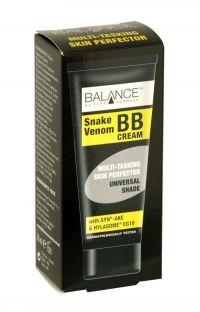 Balance Snake Venom Multi Tasking Skin Perfector Bb Cream 30ml Balance™ Active Formula Snake Venom BB Cream. A Multi Tasking Skin Perfector. Serum, Bb Cream, Chemistry, Health And Beauty, Household, Fragrance, Cosmetics, Perfume