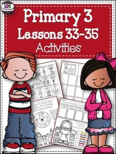 Primary 3 - Lessons 33-35